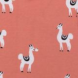 Laatste meter! Onnolulu - Lama #weeffoutje (organic jersey) €18 p/m_