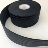 Zwart glans elastiek 60mm_
