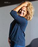 Hello Heidi - Jersey met viscosestreep Blue/Navy €25,50 p/m_