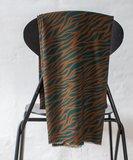 mindtheMAKER - Viscose Zebra Teal/rust €19,50 p/m_