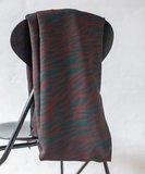 mindtheMAKER - Viscose Zebra Teal/brown €19,50 p/m_