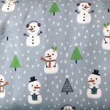 Lillestoff - Snowmen summersweat/french terry €21,80 p/m GOTS_
