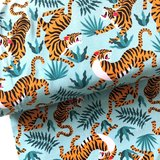Jungle tigers €24 p/m jersey (GOTS) _