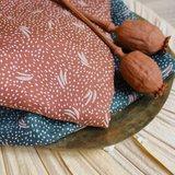 Atelier Brunette - Dune Chestnut (Ecovero dobby) €19,90 p/m_