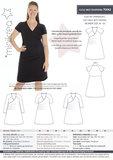 Minikrea Jersey dress met rimpels mt 34-50 70042_