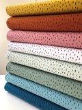 Verhees GOTS  - Dots/stripes rose €11,90 p/m jersey (GOTS) _