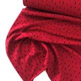 Verhees GOTS  - Dots/stripes red €11,90 p/m jersey (GOTS) _