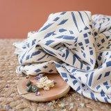 Laatste meter! Atelier Brunette - Shade Cobalt (Lenzing™️EcoVero™️viscose fibers) €19,90 p/m_