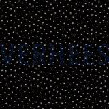 Verhees GOTS  - Black mini flowers €8,90 p/m katoen (GOTS) _