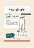 Wardrobe by Me - Rebel Sweat Pants €16,50_