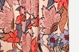 Atelier Jupe - Soft pink viscose with large flower print €25 p/m_