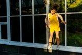 Baba Kidswear - Lemon spikkels badstof-spons €22,50 p/m GOTS_