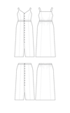 Cashmerette - Holyoke maxi dress & skirt €18,95_
