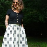 Sew Liberated - Gypsum skirt €18,95_