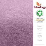 Fabrilogy - Oudroze Katoen Fleece  €20 p/m GOTS_