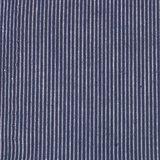 Ecological Textiles - Hemp/cotton dark blue striped poplin   €18,90_