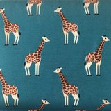 Ansje Handmade - Giraffe jersey - Reneesillustrations €23,50 p/m_