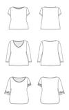 Cashmerette - Concord T-shirt €18,95_