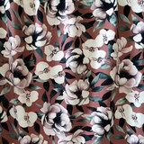Mieli Design - Blush bloom rust JERSEY €25,50 p/m (organic)_