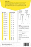 Closet Core Patterns - Ginger jeans  €19,95_