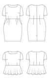 Cashmerette - Rivermont dress&top €18,95_