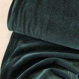 C. Pauli - Dark Green Nicky Velours 25,50 p/m GOTS_