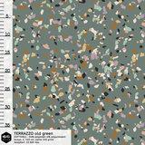 COUPON 105 CM Mieli Design - Terrazzo SOFTSHELL €26,90 p/m (organic)_