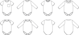 Ikatee - Malmo Bodysuit unisex 1m -4y €16 p/s_