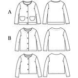 Ikatee - VEGA newborn fleece vest - Baby 1M/4Y €16 p/s_