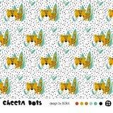Lillestoff - Cheetah Dots SUMMERSWEAT €21,80 p/m GOTS_