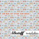 Lillestoff - Cars SUMMERSWEAT €21,80 p/m GOTS_