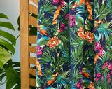 Atelier Jupe - Tropical parrot COTTON-STRETCH €26,5 p/m_