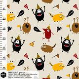 Mieli Design - Hurray it's my birthday! €25,50 p/m FRENCH TERRY (organic)_