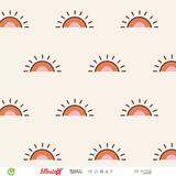 Lillestoff - Retrosummer Sunset JERSEY €21,30 p/m GOTS_