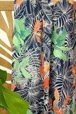 Atelier Jupe - Dark blue tropical VISCOSE € 24,50 p/m_