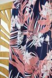 Atelier Jupe - Blue pink tropical VISCOSE € 24,50 p/m_