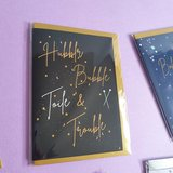 Sew Anonymous -  Kaart Hubble,Bubble, Toile & Trouble €3,50 p/s_