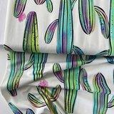 Mereen - Crazy Cacti BIG €24,90 p/m jersey (organic) _
