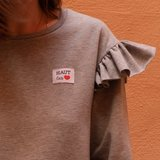 Ikatee -  Haut les coeurs woven labels €6 per set_