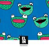 Elin Aarenstrup - Frog Blue JERSEY €26,50 p/m_