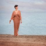 See you at six - Flecks Amber Bruin VISCOSE €15 p/m_