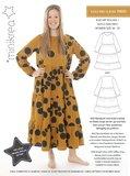 Minikrea Dames Ruffle Hem dress 70055_