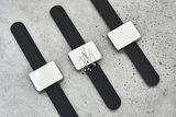 SEWPLY - Armband siliconen ZWART_