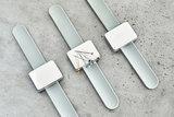 SEWPLY - Armband siliconen GRIJS_