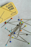 SEWPLY - Glass head pins 38mm_
