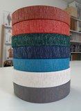 Tassenband GREY - BRONZE LUREX 40mm €4,50 p/m_