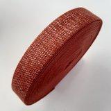 Tassenband CINNAMON - SILVER LUREX 30mm €4 p/m_