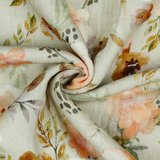 Verhees GOTS  - Sand Flower - Double Gauze € 12,90 p/m (GOTS) _