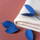 Atelier Brunette - Off White ribbing/boordstof €15 p/m_