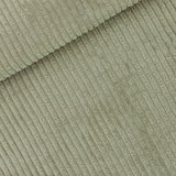 COUPON 50cm See you at six - Thee Groen BREDE RIB CORDUROY €22 p/m_